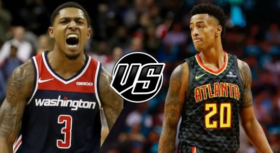 Live Streaming List: Washington Wizards vs Atlanta Hawks 2018-2019 NBA Season