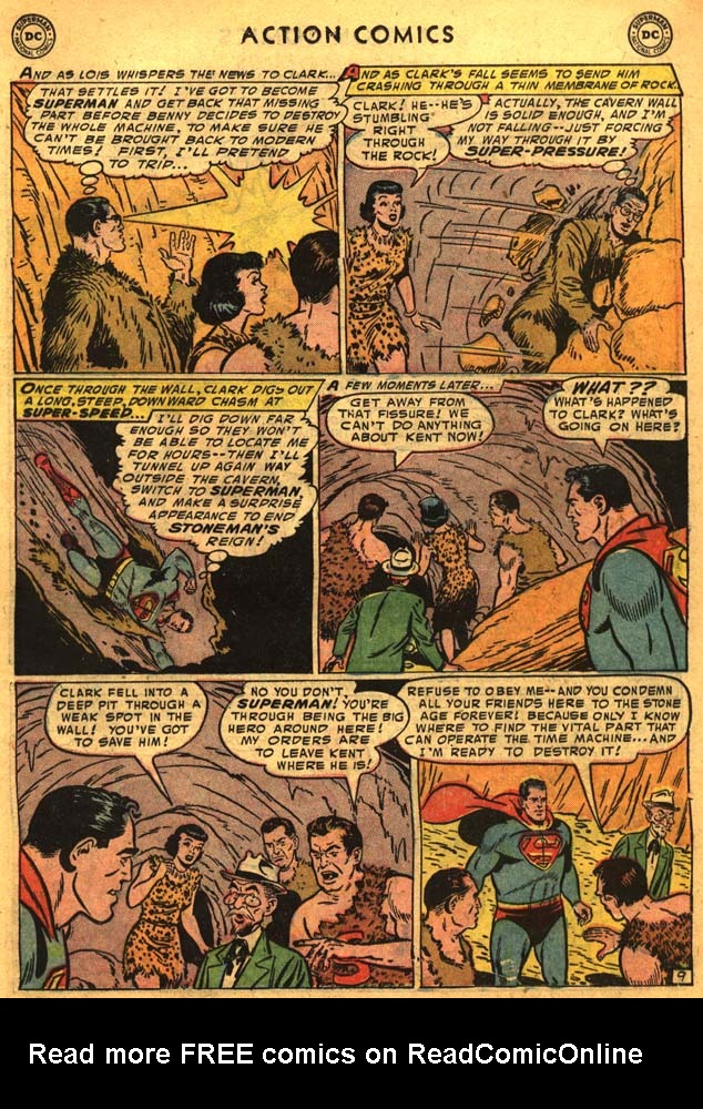 Read online Action Comics (1938) comic -  Issue #201 - 11
