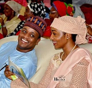 Zahra Buhari and hubby, Ahmed Indimi all smiles in new photo