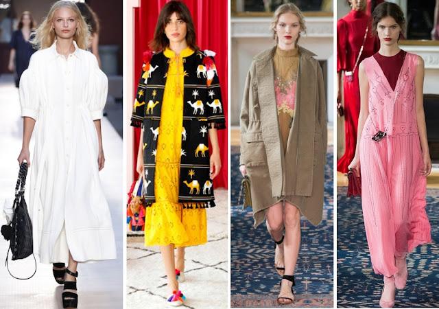 Модные цвета весны лета 2017