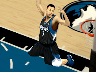 NBA 2K13 Minnesota Timberwolves Black Alternate Jersey Mods