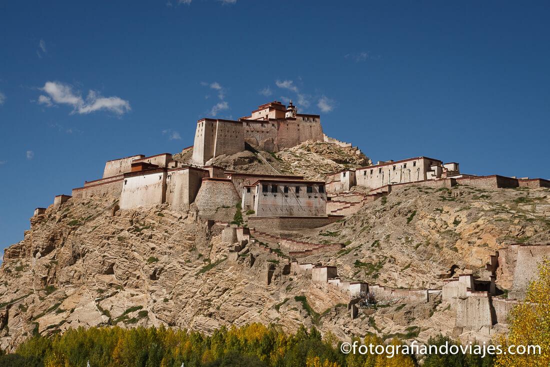 Gyantse Dzong tibet