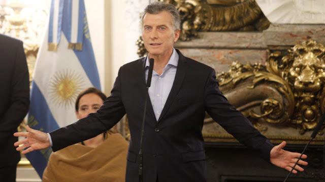 """Mauricio Macri sobre la huelga general: """"Los paros no contribuyen en nada"""""""