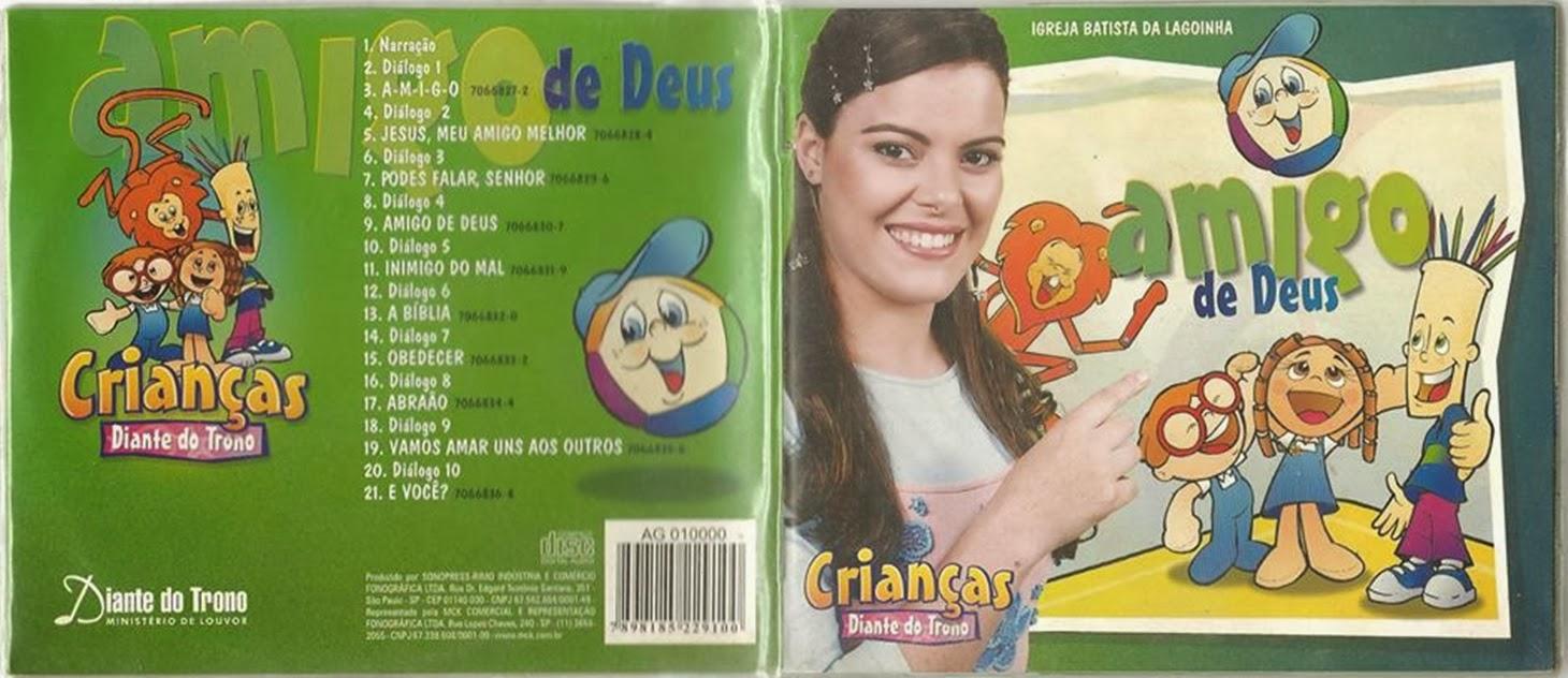 """És Meu Amigo Colo De Deus: Gospel Encartes: Crianças Diante Do Trono """"Amigo De Deus"""""""