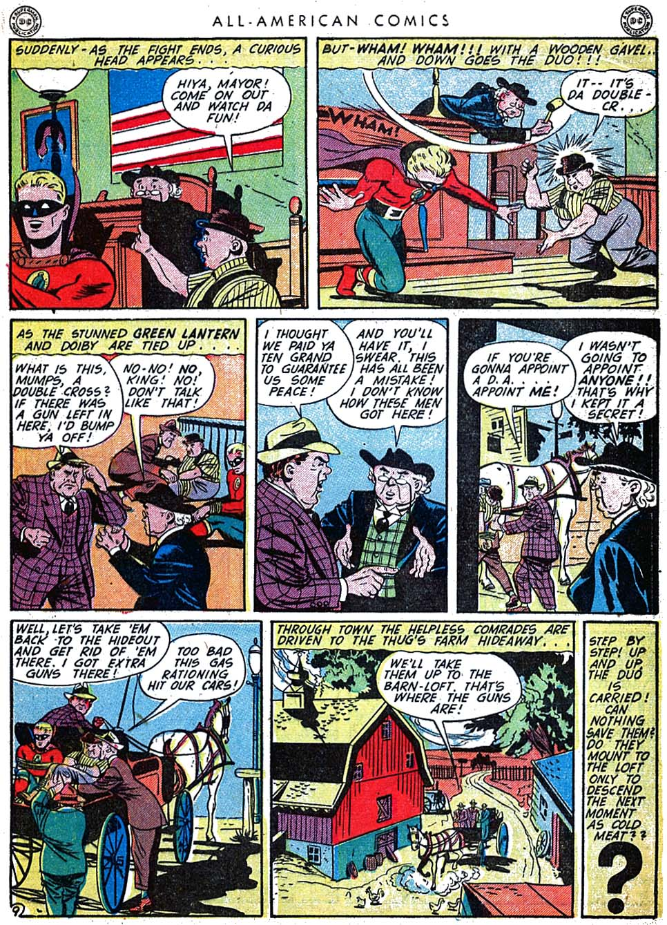 Read online All-American Comics (1939) comic -  Issue #62 - 11