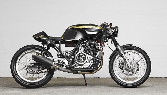 Honda GB500 By 271 Design Hell Kustom