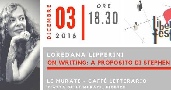 Appuntamento kinghiano a Firenze con Loredana Lipperini