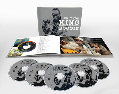 John Lee Hooker's King of the Boogie box set