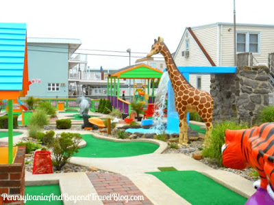 Hassles Mini Golf in North Wildwood - New Jersey