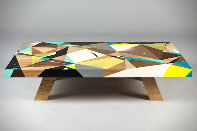 If Your In The Market For A Super Original And One Of Kind Coffee Table Spot Then This Graffiti By Vans Omega Is Definetaly
