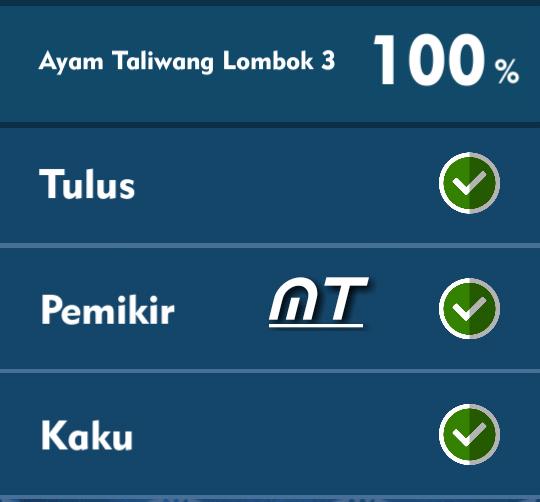Kunci Jawaban Tts Cak Lontong Ayam Taliwang Lombok 3