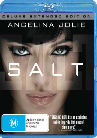 Salt 2010 BRRip 800MB Hindi Dual Audio 720p