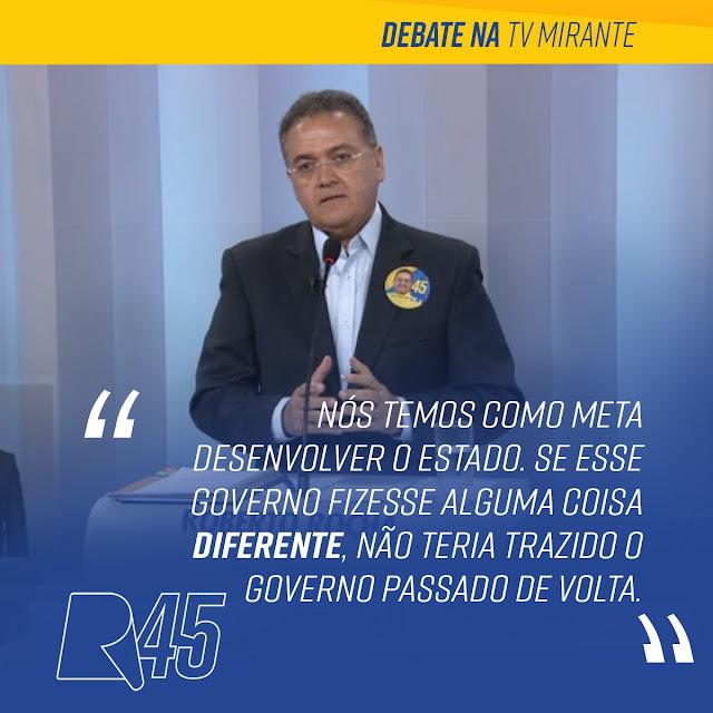 Roberto Rocha e Maura Jorge foram os melhores no debate da Mirante