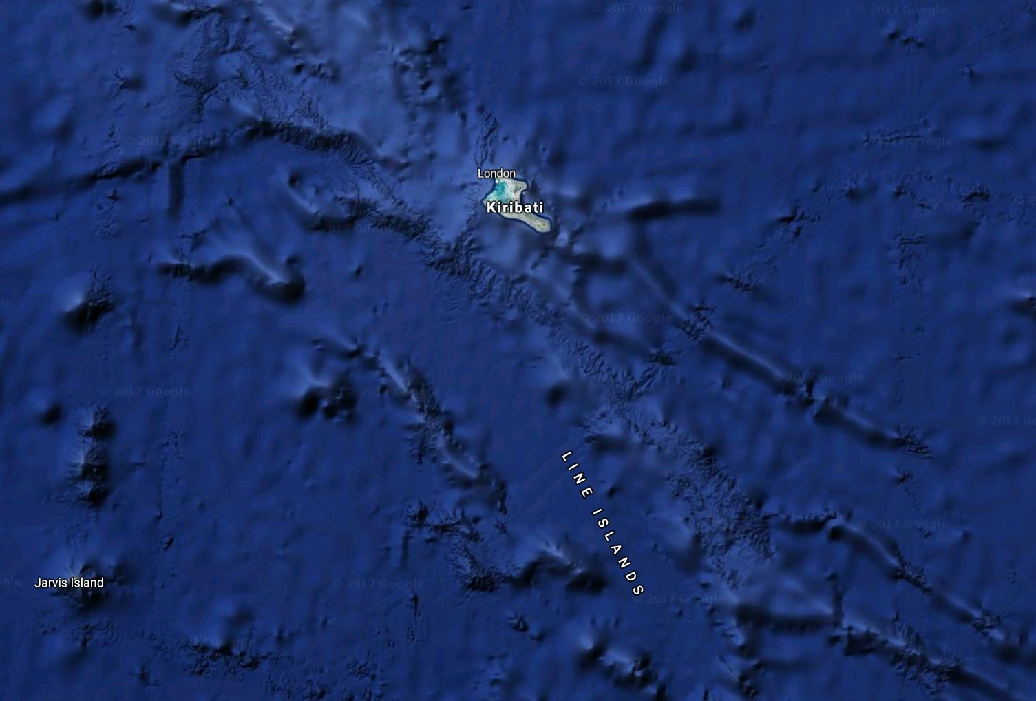 Arctic DX: QSL: Radio Kiribati, Kiritimati/Christmas Island, 846