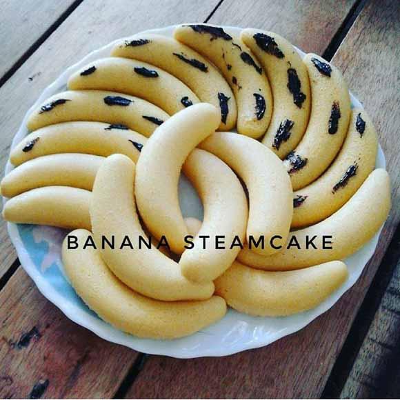 Resep Membuat Banana Steamcake. di Jamin Langsung Sukses dan Mulusss, Luss dan Luss