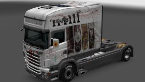 Game Of Thrones Skin for Scania RJL