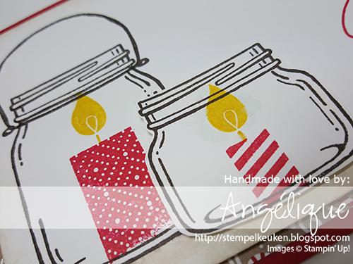 http://stempelkeuken.blogspot.com #Stempelkeuken #BuildaBirthday #JarofLove #EverydayJarsFramelits #CrumbCake #RealRed #CrushedCurry #EarlyEspresso #CandyCaneLane #blenderpen #Sponges #stampinup #Christmas2016 #Christmas Voor meer informatie en het bestellen van producten, mail naar stempelkeuken@gmail.com
