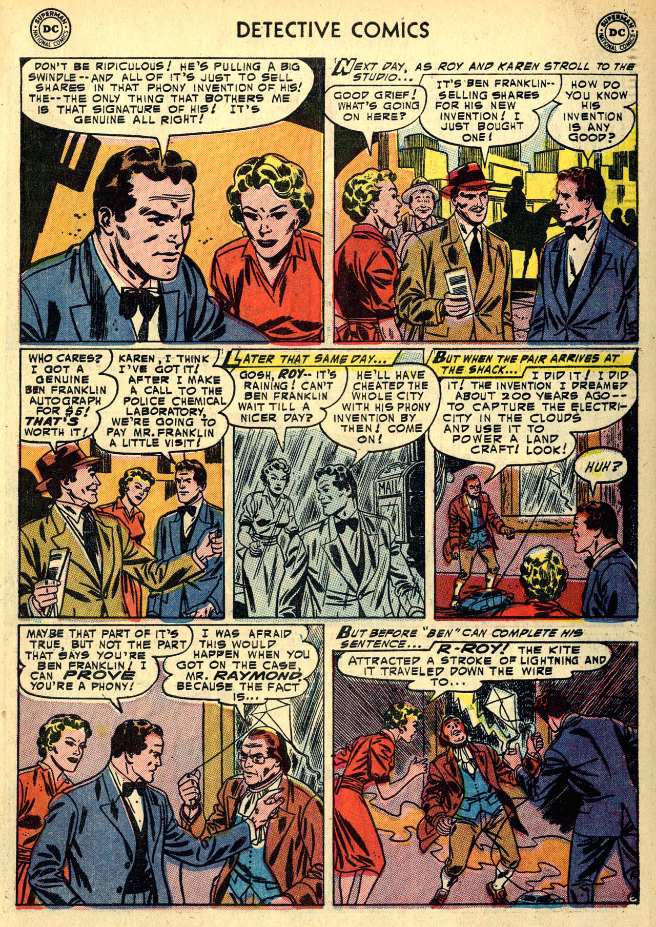 Read online Detective Comics (1937) comic -  Issue #213 - 31