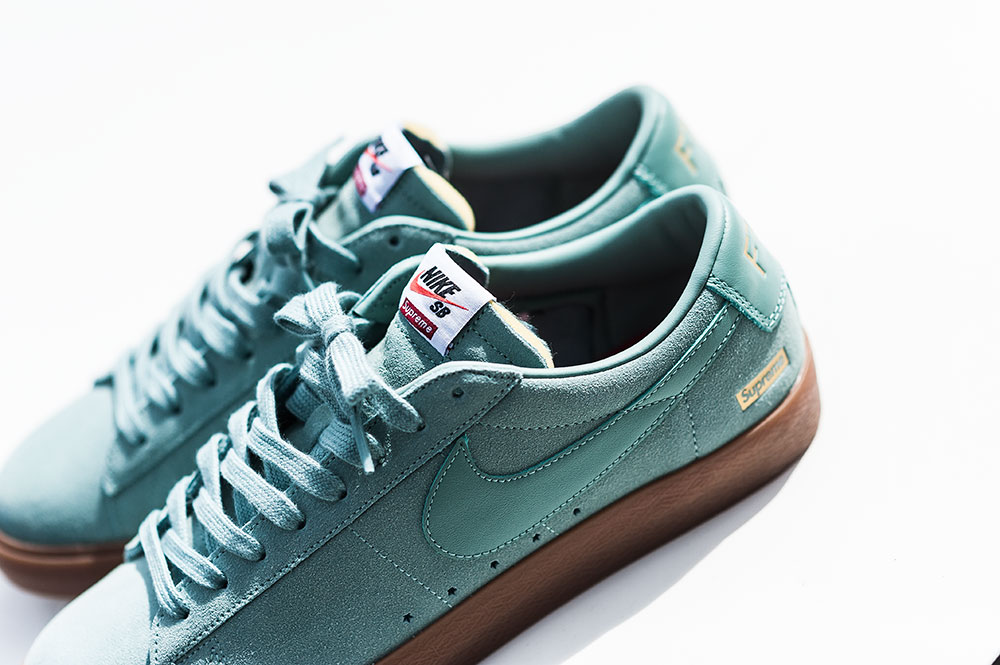 Supreme New York X Nike Blazer Low GT 'Cannon' Sneakers by Tom Cunningham