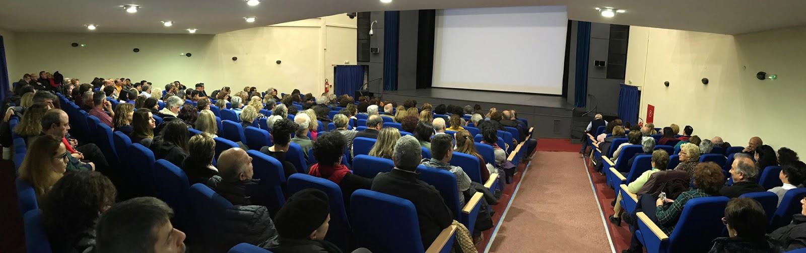 Εντυπωσιακή συμμετοχή στις προβολές της Κινηματογραφικής Λέσχης του Δήμου Πολυγύρου