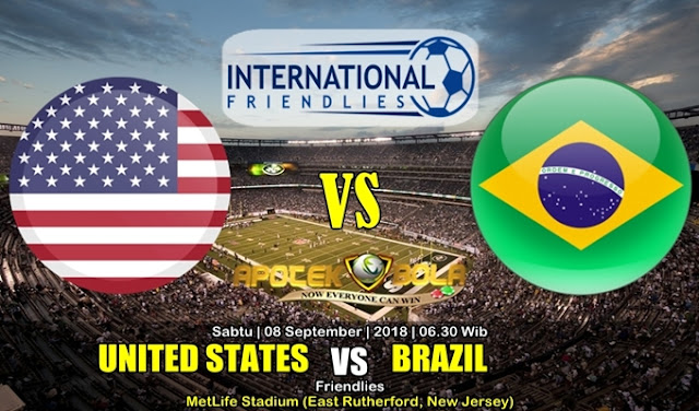 Prediksi Amerika Serikat Vs Brasil 8 September 2018