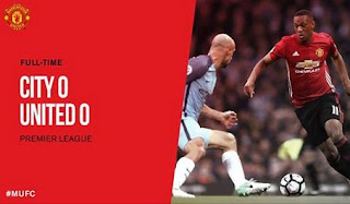 Video Highlight Manchester City vs Manchester United 0-0.