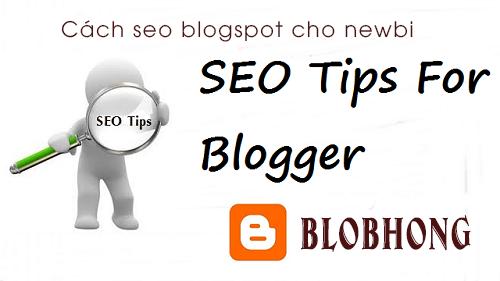 Plugin seo blogspot hiệu quả mới nhất dành cho newbi