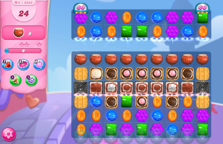 Candy Crush Saga level 6965