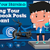 Boost Your Stamina Making Your Facebook Posts Relevant