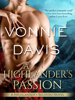 Scottish Historical Romance Book Cover