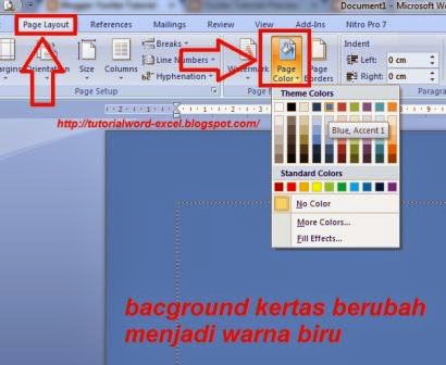 gambar Cara Mengganti Background Halaman Microsoft Word