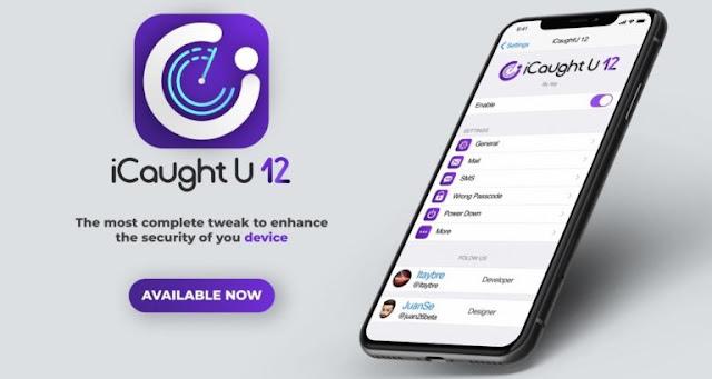 iCaughtU 12: Enhance secuirty of your jailbroken iPhone