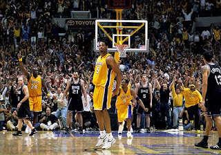 Robert Horry, Big Shot Bob, game winner, game winning shot, Lakers, Kings, 2002