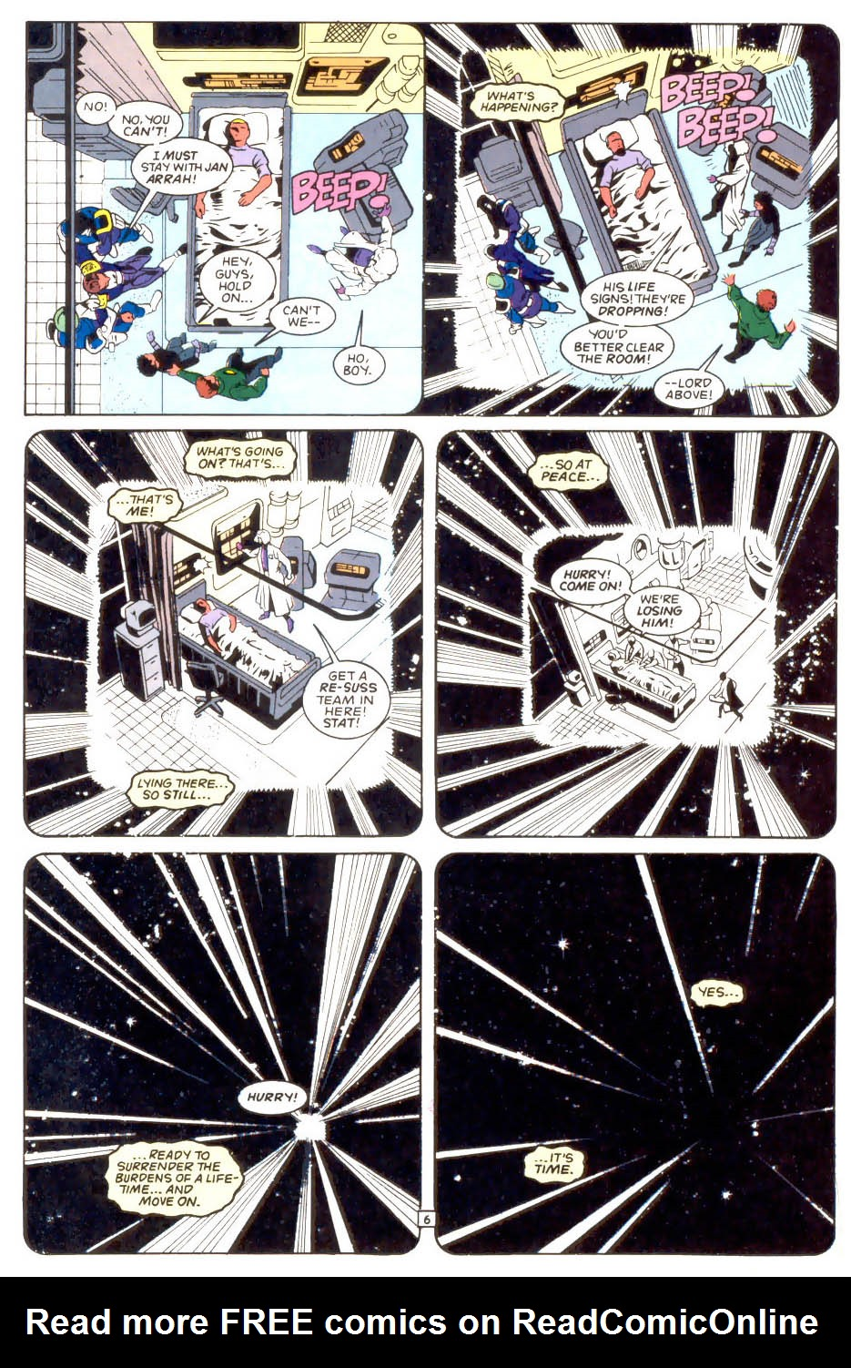 Legion of Super-Heroes (1989) 50 Page 6