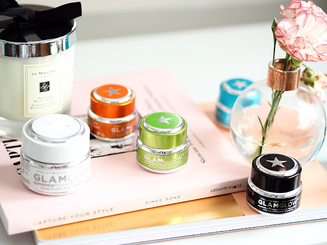 Glamglow face masks spring lilies review