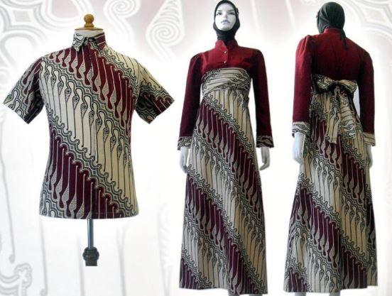 Trend Model Baju Gamis Baju Batik Baju Muslim 2015 Baju Gamis