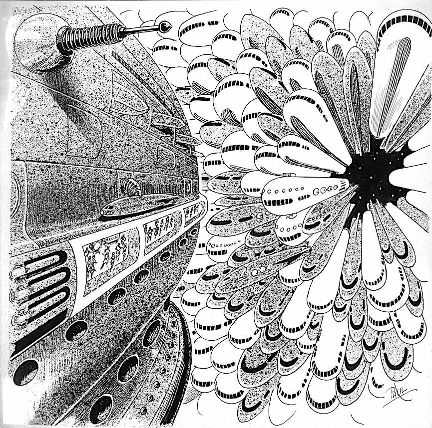 a Frank R. Paul illustration about parking