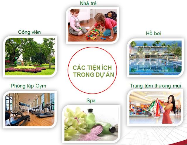 Tiện ích nội khu căn hộ Thành Thái quận 10