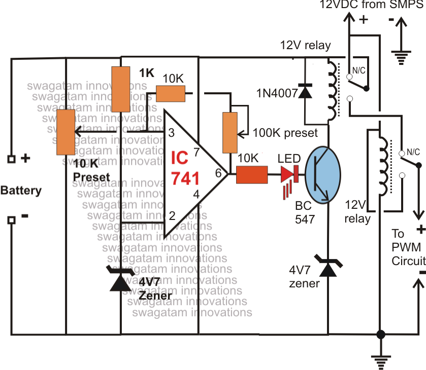 Emergency Light Circuit. Awesome The Article Describes A