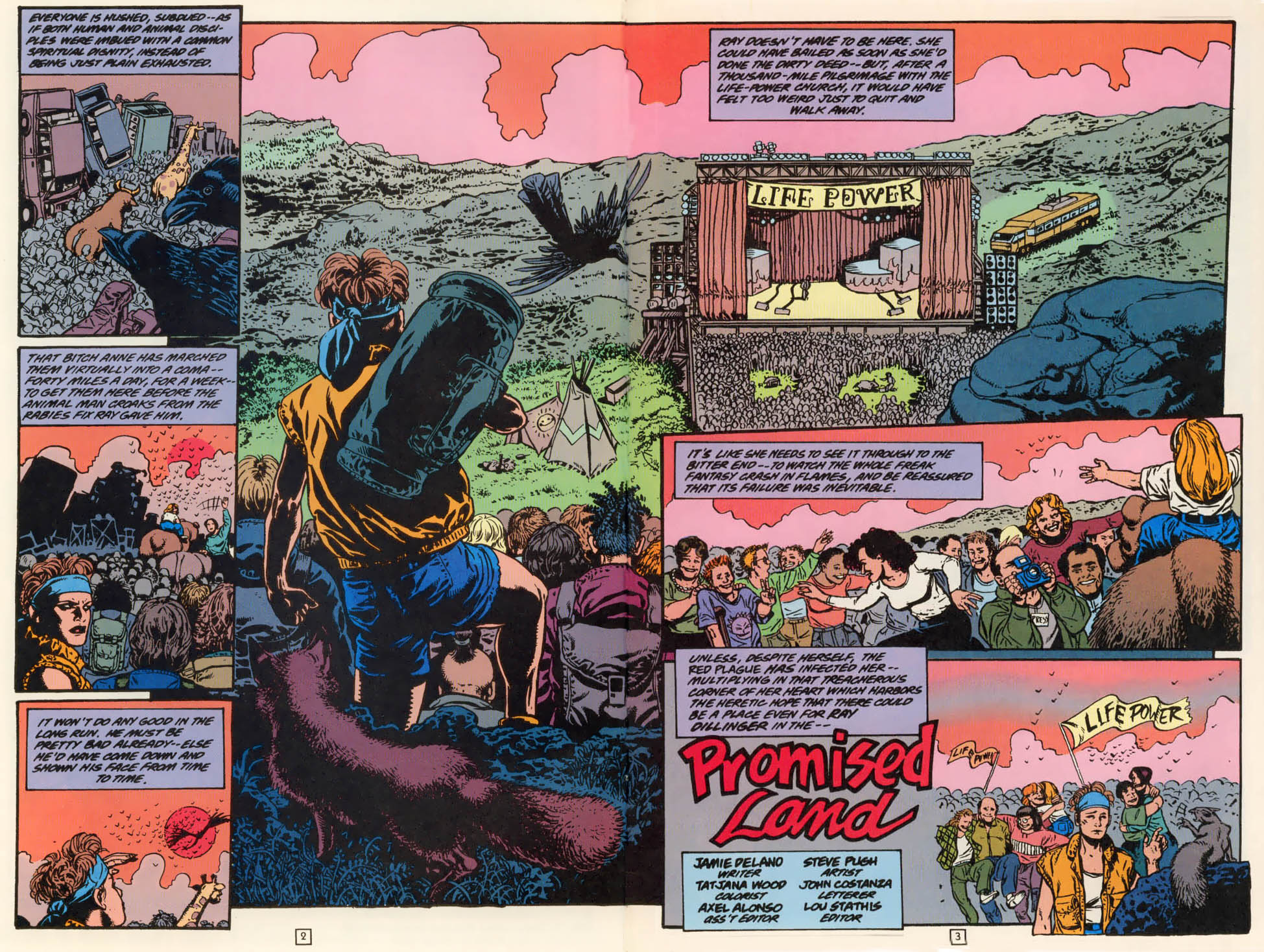 Read online Animal Man (1988) comic -  Issue #79 - 3