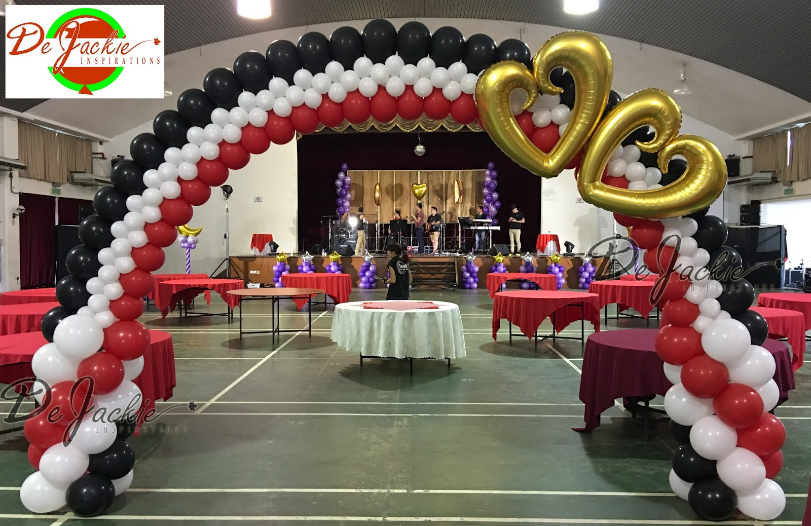 Simple Wedding Balloon Arch Balloon decorations for