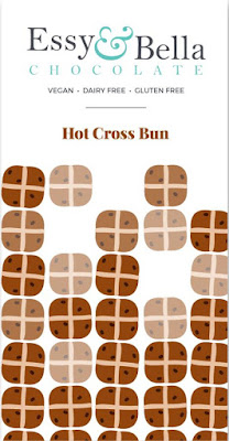 Hot Cross Bun Chocolate Bar, Essy & Belle - £4.45