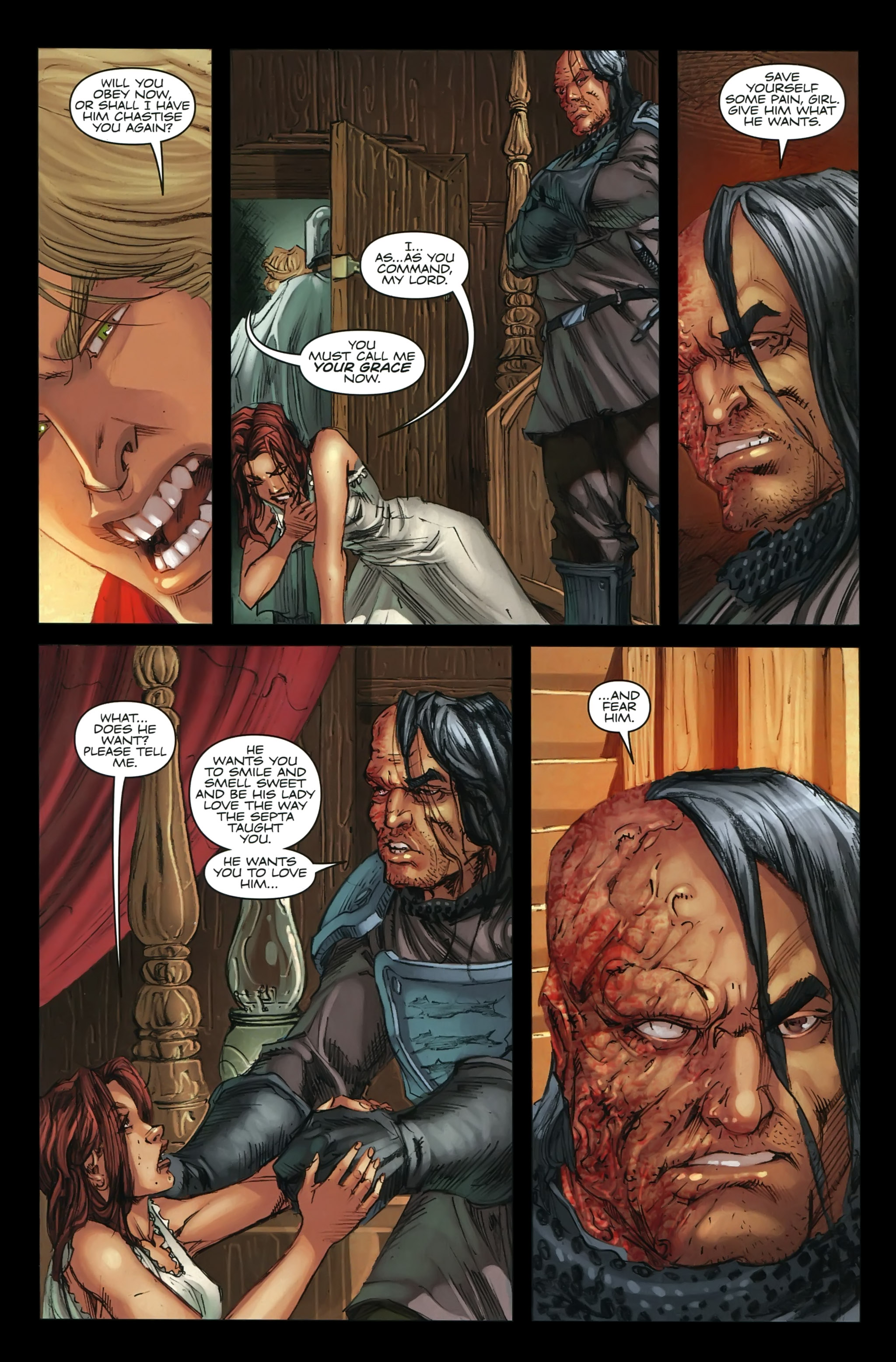 Read online A Game Of Thrones comic -  Issue #22 - 8