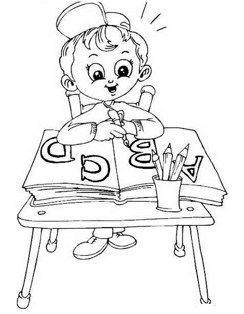 Gambar Mewarnai Anak - 3