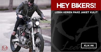 Jaket Kulit Biker