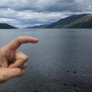 Nessie Spotted Loch Ness