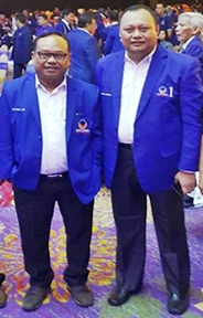 Ince Langke, Resmi Dilantik Jadi Wakil Ketua, DPW Partai Nasdem, Sulsel