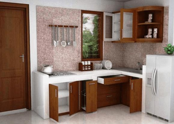 55 Contoh Desain Dapur Minimalis 3x3 Cantik Dan Modern Terbaru 2017