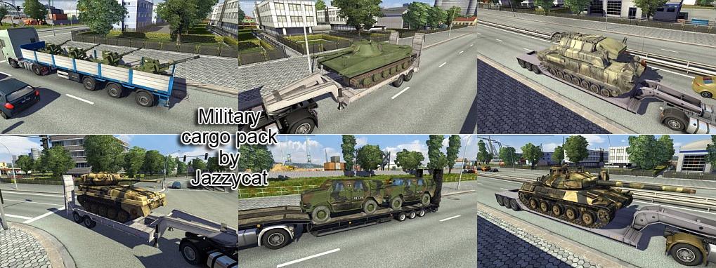 Military cargo mod pack v1.3