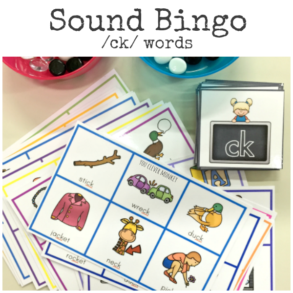 CK Sound BINGO game | you clever monkey